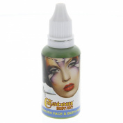 Custom Body Art 30ml Green Water Based Airbrush Body Art & Face Paint