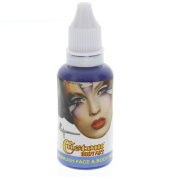 Custom Body Art 30ml Blue Water Based Airbrush Body Art & Face Paint