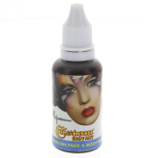 Custom Body Art 30ml Brown Water Based Airbrush Body Art & Face Paint