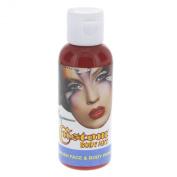 Custom Body Art 60ml Red Water Based Airbrush Body Art & Face Paint