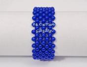 Corsage Bracelet - Colour Your World Beaded Bracelet - Royal Blue