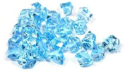 2 Pounds of Blue Acrylic Ice Rock Vase Gems or Table Scatters