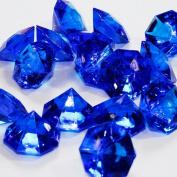 ifavor123 Royal Blue 25 Carat Acrylic Diamonds - 36 Acrylic Gems - Big Bling