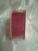 Red Linen Ribbon