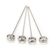 Bridal Collection By David Tutera Rhinestone Topped Picks Set of Four