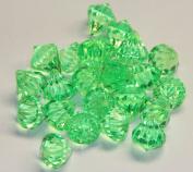 2lb of 20 Carat Apple Green Acrylic Diamonds - Big Diamonds Big Bling