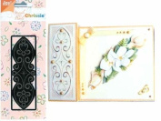 Ecstasy Crafts Joy Craft Chrissie Embroidery Stencil - Heart Curves