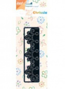 Ecstasy Crafts Joy Craft Chrissie Embroidery Stencil -Decorative Border Edge