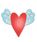 Sizzix Originals Die Large Heart With Wings