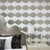Allover Stencil Aladdin - Reusable stencil for wall decor - Stencils instead of Wallpaper