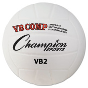 Champion Sports Volleyball Pro Comp Series, 20cm Diameter