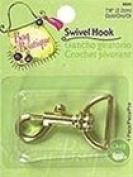 """Dritz Bag Boutique Swivel Hook Gold 7/8"""" 2.2cm 3bx"""