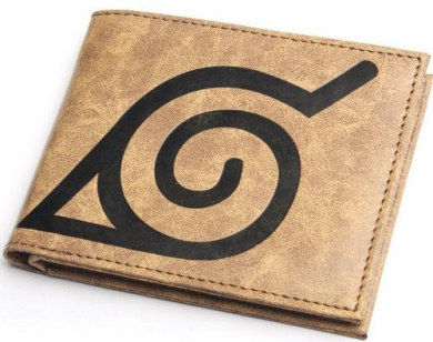 Naruto Sasuke Kakashi Muye Village Domain Wallet