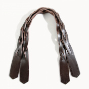Byhands 100% Genuine Leather Braided Style Purse Handles/Bag Handles