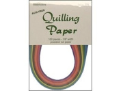 Lake City Crafts Quilling Paper 100 pc 1/8 Watercolour