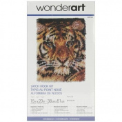 Caron Wonderart Latch Hook Kit 38cm x 50cm : Tiger