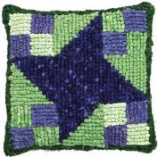 MCG Textiles Quilt Mates Locker Hook Pillow Kit - in your choice of design