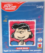 Peanuts Lucy 20 x 30 Latch Hook Kit