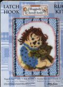 Classic Raggedy Ann & Andy Latch Hook Rug Kit