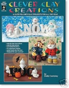 Clever Clay Creations 11 Cute Polymer Clay Projects OOP