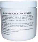 Porcelain powder for casting resin