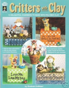 Critters with Clay Polymer Sculpey FIMO Book OOP NEW