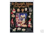 A-Dough-Able Ornaments Clay Dough Art OOP NEW