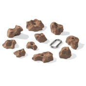 Nicros HHT Moonbeam Brown Polyester Resin Handholds