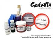 Godzilla carbonworksTM mould making starter kit for carbon fibre