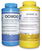 Smooth-on Oomoo 30 - 1 Case with 4 Kits - 8 Pints Total Silicone