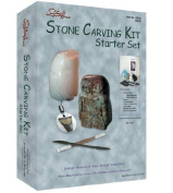 Sculpture House Stone Carving Kit -- Starter Set kit