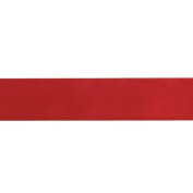 3.8cm Double-sided Satin Ribbon Red Fabric By The Yard