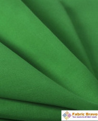 Kelly Green 150cm Wide Premium Cotton Blend Broadcloth Fabric By the Yard