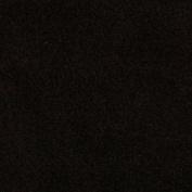 150cm Wide WinterFleece Velour Black Fabric By The Yard