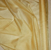 Gold Sparkle Organza Fabric 150cm By the Yard