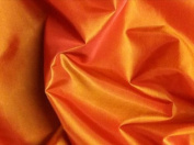 Orange/yellow 2tone Taffeta Fabric 150cm By the Yard
