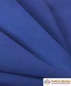 Royal Blue 150cm Wide Premium Cotton Blend Broadcloth Fabric By the Yard