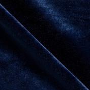 Stretch Velvet Navy Fabric