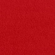 Red Anti Pill Solid Fleece Fabric, 150cm Inches Wide - Sold By The Yard