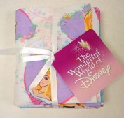 Disney Princess Fat Quarters Cotton Fabric Lot Of 4