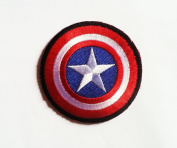 CAPTAIN AMERICA Marvel Comics SHIELD Logo PATCH