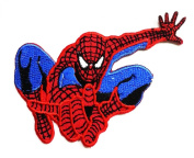 Spiderman Retro Marvel Comics Embroidered Iron on Patch