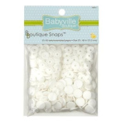 Babyville Boutique Snaps White
