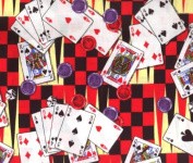 Board Game By General Fabrics- 100% Cotton 110cm Wide By the Yard