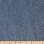 New Aged Muslin Medium Blue Fabric