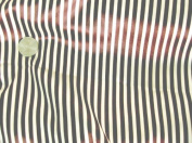 Satin Charmeuse Pin Stripe Gold & Brown 110cm W By the Yard.