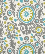 Premier Prints Suzani Summerland Natural Fabric - by the Yard