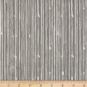 Premier Prints Scribble Stripe Twill Storm Fabric