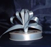 Ribbon - Satin Ribbon- 1.6cm Single Face 50 Yards (150 FT) - Dusty Blue - Sewing - Craft - Wedding Favours