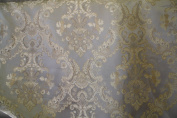 Montecarro Collection,colour Sage 100 Jacquard Floral, Fabric By the Yard
